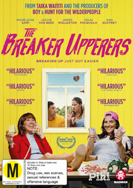 The Breaker Upperers on DVD