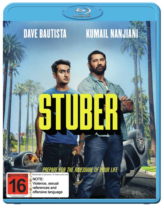 Stuber on Blu-ray
