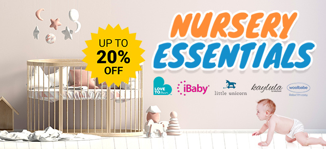 Baby Nursery Essentials Sale - Up to 20% Off