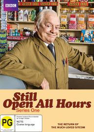 Still Open All Hours - Season One on DVD
