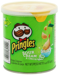 Pringles Grab & Go Small SC & Onion 40g (12 Pack)