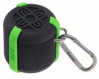Moki AquaBass Waterproof Bluetooth Speaker - Black/Green image