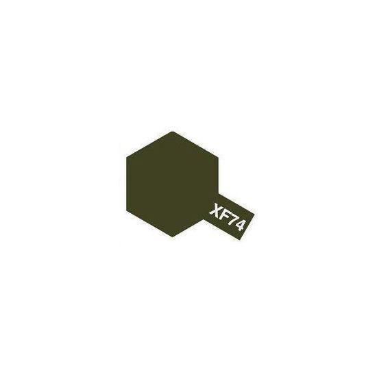Tamiya Acrylic: Olive Drab (XF74)