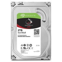 2TB Seagate IronWolf NAS SATA 6Gb/s NCQ 64MB Cache 3.5-Inch Internal Hard Drive