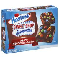Hostess Sweet Shop Brownies with M&Ms 6pk image