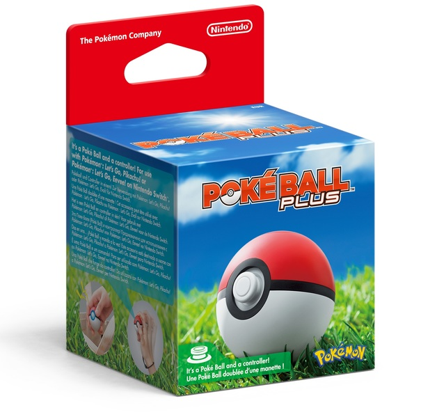 Poke Ball Plus for Switch