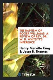 The Baptism of Roger Williams by Henry Melville King image