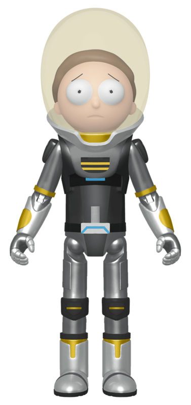 """Rick & Morty: Morty Space Suit (Metallic) - 5"""" Action Figure"""