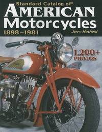 Standard Cat American Motorcycles 1898-8 by J Hatfield image