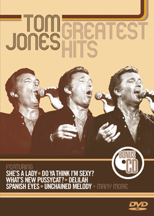Tom Jones - Greatest Hits (DVD And CD) on DVD