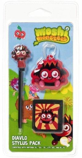 Moshi Monsters Stylus Pack - Diavlo (Nintendo 3DS/DSi/DS Lite) for Nintendo 3DS