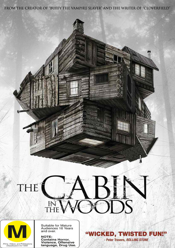 The Cabin in the Woods on DVD