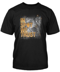 World of Tanks In Spot We Trust Men's T-Shirt (Small)