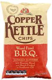 Copper Kettle Potato Chips - Wood Fired BBQ 150g
