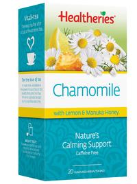Healtheries Chamomile with Lemon & Manuka Honey Tea (Pack of 20)