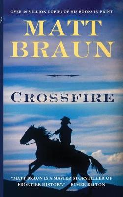 Crossfire by Matt Braun image