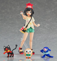 Figma Pokemon: Trainer Selene (Sun & Moon) - Action Figure
