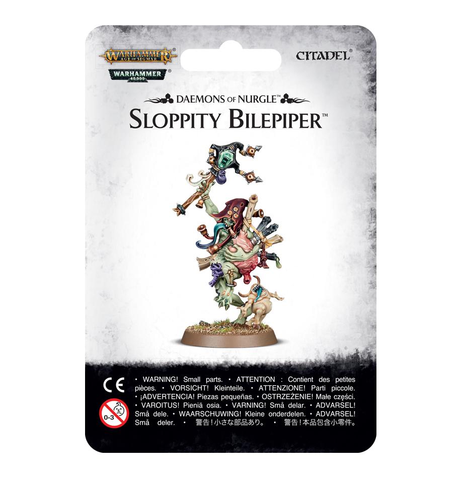 Sloppity Bilepiper: Herald of Nurgle image