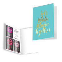 Naughty Notes Greeting Card - Let's Make Magic Together