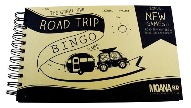 Moana Road: Road Trip Bingo