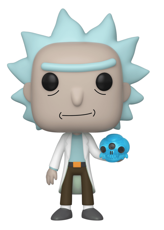 Rick & Morty: Rick with Crystal Skull - Pop! Vinyl Figure