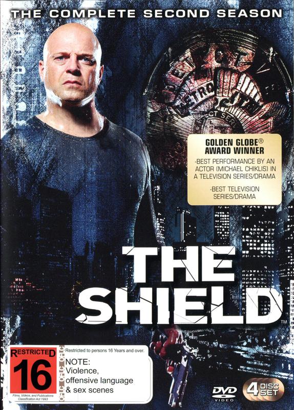 The Shield - Season 2 on DVD