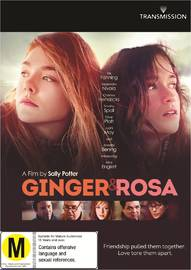 Ginger & Rosa on DVD