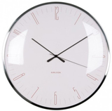 Karlsson Wall Clock - Dragonfly: Pink