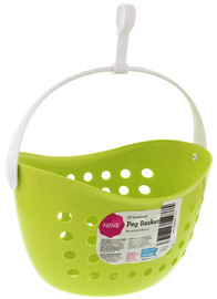 Nove Peg Basket - Lime