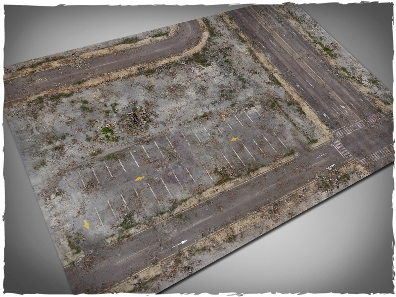 DeepCut Studio Walking Dead City Neoprene Mat (6x4) image