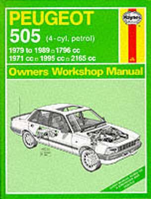 Peugeot 505 (Petrol) 1979-89 Owner's Workshop Manual by A.K. Legg