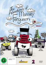 The Adventures Of Massey Ferguson - Volume 1 on DVD image