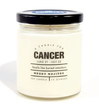Whiskey River Co: Astrology Candle - Cancer image