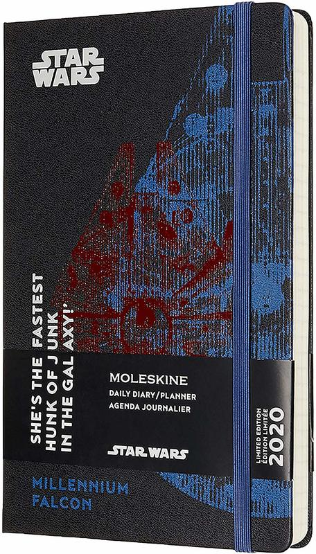 Moleskine: 2020 Diary Large Hard Cover 12 Month Daily - Star Wars