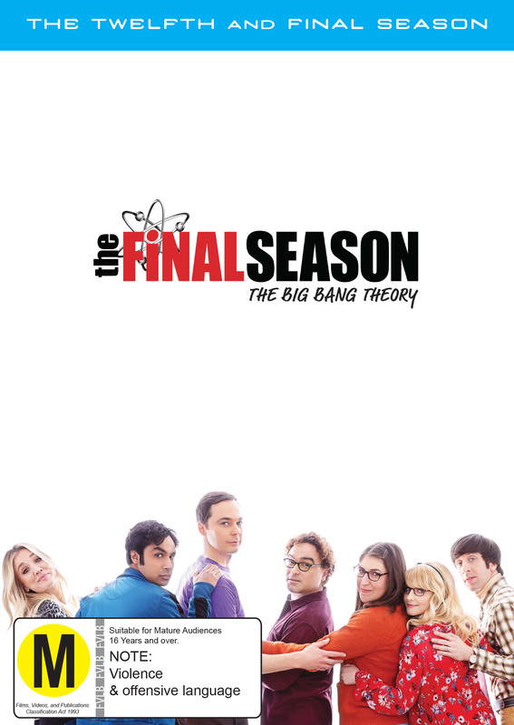 The Big Bang Theory - Season 12 on DVD