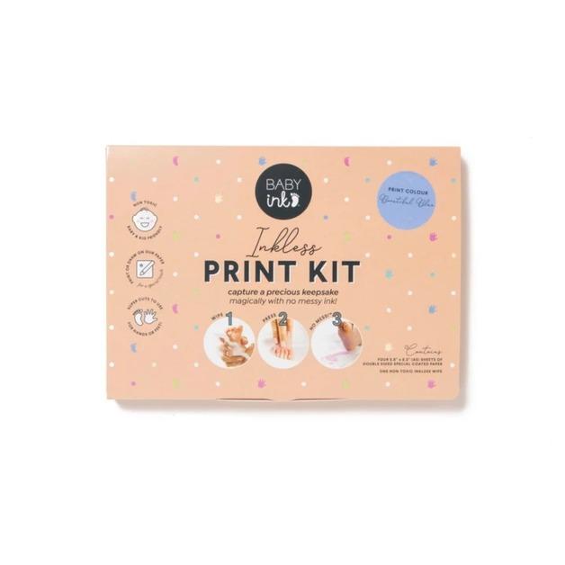 Baby Ink: Inkless Printing Kit - Blue