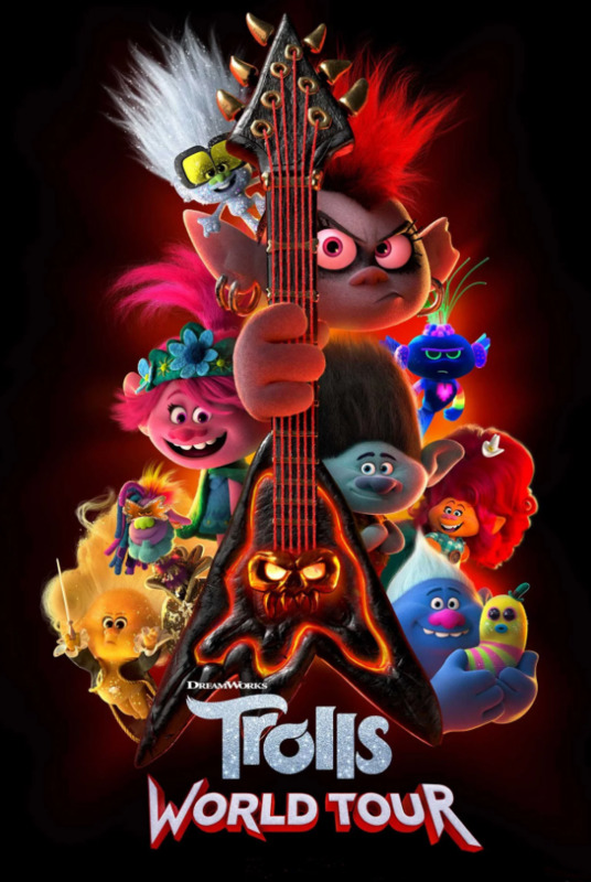 Trolls: World Tour on DVD