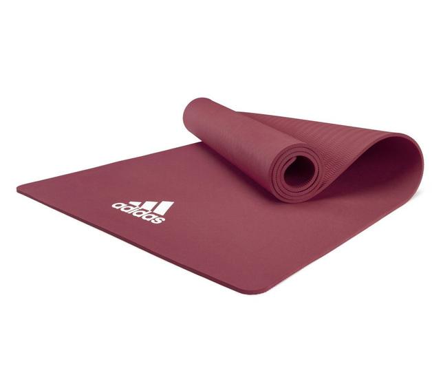 Adidas 8mm Yoga Mat - Mystery Ruby