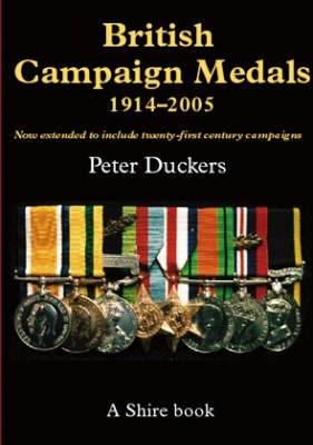 British Campaign Medals, 1914-2005 by Peter Duckers image