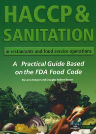 HACCP & Sanitation in Restaurants & Food Service Operations by Douglas Robert Brown image