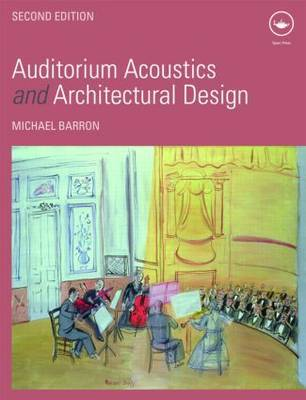 Auditorium Acoustics and Architectural Design by Michael Barron image