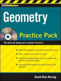 CliffsNotes Geometry Practice Pack by David Alan Herzog image