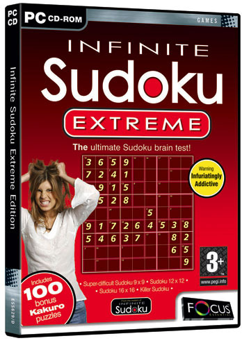 Infinite Sudoku Extreme Edition for PC Games
