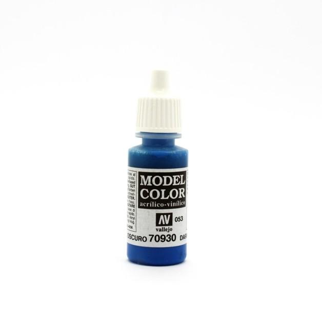 Vallejo Model Colour Dark Blue 17ml