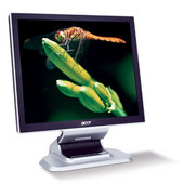 "Acer AL1751 17"" LCD Monitor Silver -Wall Mountable Crystal Brite Screen with 6ms Response Rate Integrated Stereo Speakers image"