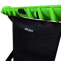 DXRacer Gaming Desk (Black & Green) for