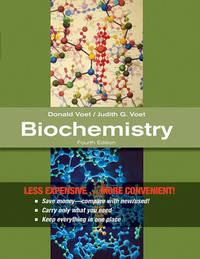 Biochemistry 4E Binder Ready Version by Donald Voet