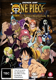 One Piece - Voyage Collection 9 (Eps 397-445) on DVD image
