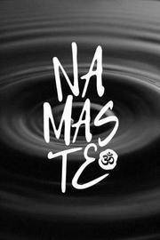 Namaste Ripple Journal by Golding Notebooks
