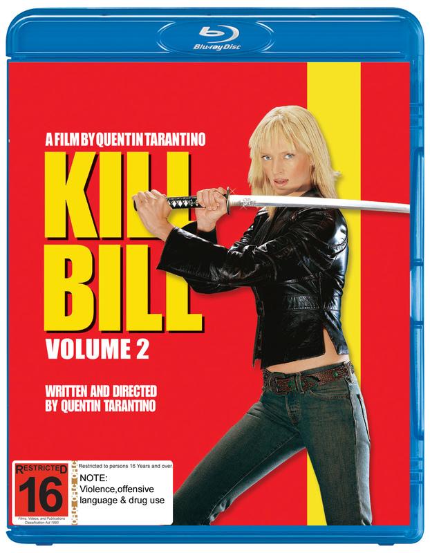 Kill Bill: Volume 2 on Blu-ray